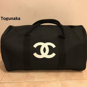 Chanel VIP gift Bag Travel Bag Weekend Gym Bag-New